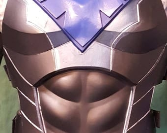 Nightwing cosplay armor foam template (torso only)
