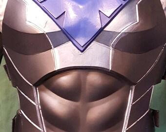 Nightwiing cosplay armor foam TEMPLATES  (torso only)
