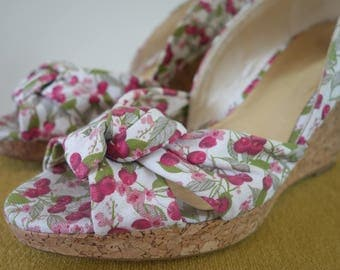Cherries! - women's Summer shoes