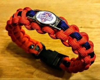 Clemson Tigers 2016 National Champions Paracord Bracelet