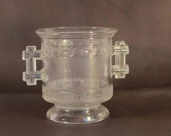 Antique Glass Spooner