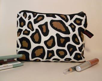 Make-up bag Cheetah