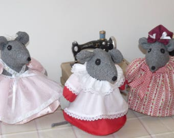 Doorstop mouse. Mouse ornaments, unique doorstop , mouse lover gift,