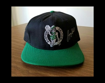 Larry Bird Boston Celtics snapback hat