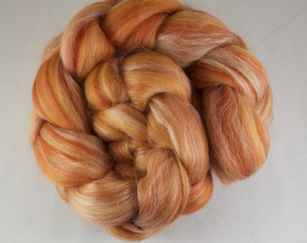 TERRACOTTA Blended Roving, Merino - Silk, 100g