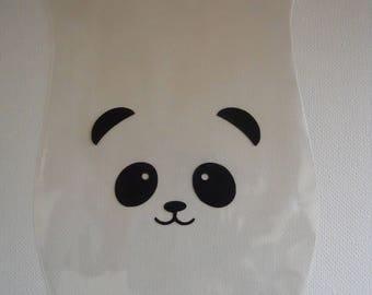 Panda Treat Bag, Panda Bag, Panda Party Favor, Panda Birthday Party, Panda Baby Shower, Panda Theme, Panda Party Decoration