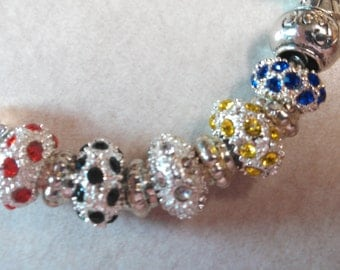 Nested Crystal OES Bracelet