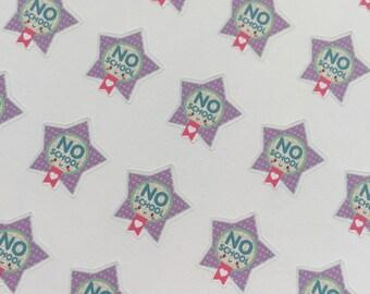 no school mini star flags