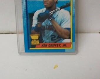 1990 Ken Griffey Jr Topps MLB Baseball Card #336 Seattle Mariners Trading Card VF