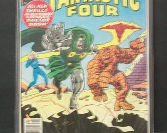 1980 Marvel's Greatest Comics Starring The Fantastic Four #96  Doctor Doom Reprint of Fantastic Four 106  VG- VF Vintage Marvel Comic Book