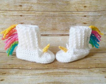 Unicorn slippers-unicorn booties-unicorn shoes-unicorn booties- unicorn gift-unicorns-unicorn accessories-unicorn baby shower-unicorn prop