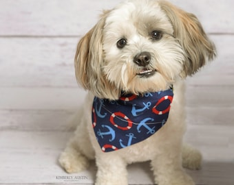 Nautical Dog Bandana