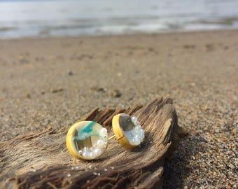 Ocean Bubble Earrings