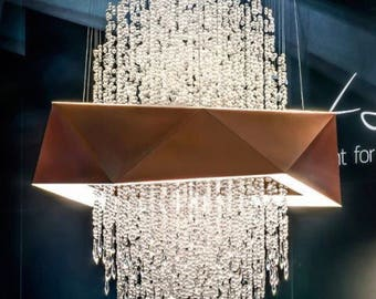 Lauren Crystal Chandelier
