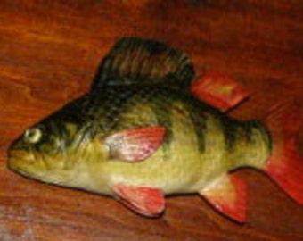 Perch fish sculpture ordinary 20 cm