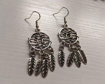 Dream Catcher Earrings, Dream Carcher Jewellery, Sweer Dreams, Dream Catcher Gift, Birthday Gift, Gift for Her, Gift for Him
