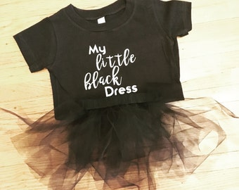 Little Black Dress Onesie and Tutu