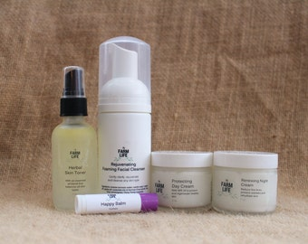 Facial Care Kits - available in full and sample sizes