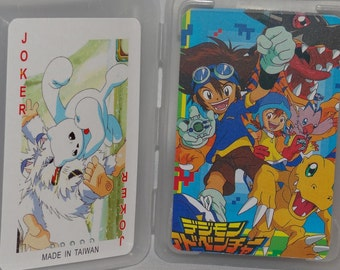 DIGIMON Anime Deck of Playing Cards with Characters on Cards  MIP