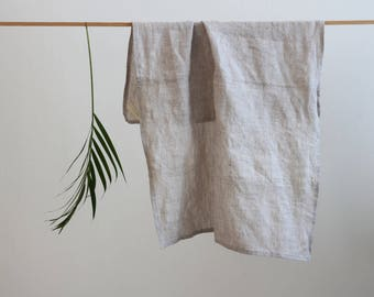 Essui-hand washed linen - Furoshiki - colours-natural certified oeko-tex