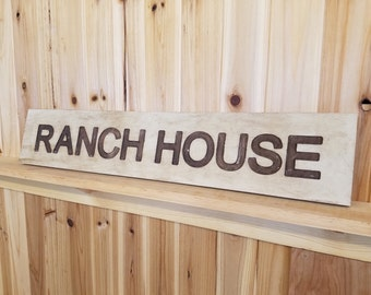 Ranch House Signs