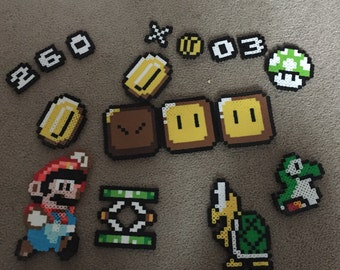 Super Mario Perler Bead Pack