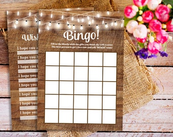 Stringlight baby shower games package, Baby Shower Games Set, Rustic baby shower games, printable baby shower games, dear baby games