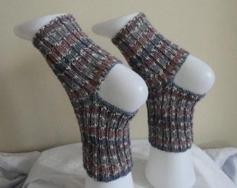 Knitted wool yoga socks