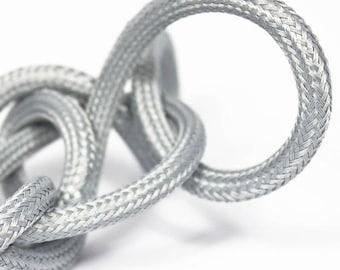 Textile cable node collection - silver