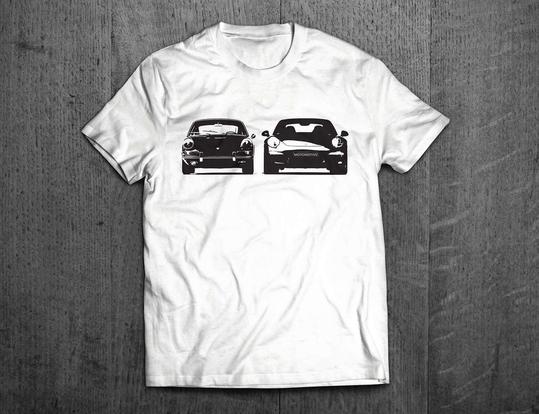 porsche shirts porsche 911 old vs new t shirts german. Black Bedroom Furniture Sets. Home Design Ideas