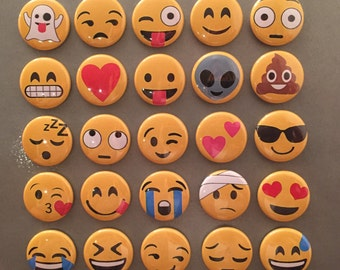 Emoji Magnets - set of 25!