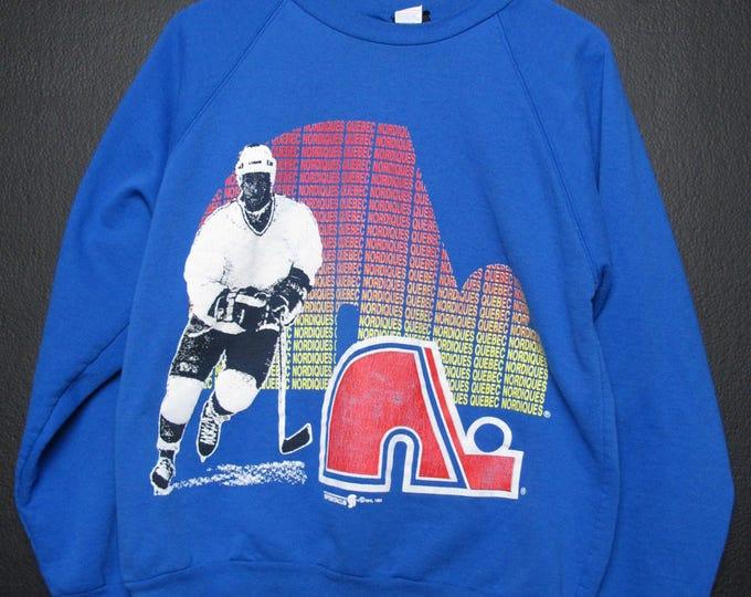 Quebec Nordiques NHL 1992 vintage Sweatshirt