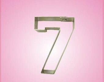 Varsity Number 7 Cookie Cutter