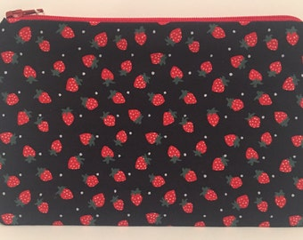 January sale Strawberry pattern coin purse