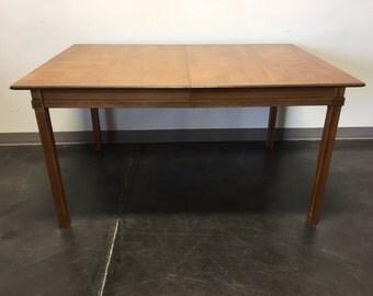 THOMASVILLE Tamerlane Vintage Mid-Century Modern Dining Table