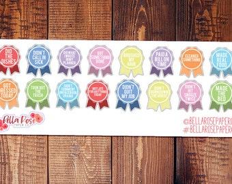 Adulting Reward Stickers, Adult Stickers, Planner Stickers, Inspired By Erin Condren Planner Stickers, Happy Planner Stickers