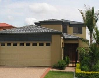 249 m2 | 4 Bed + Home Cinema | Narrow lot 2 Storey design | Narrow lot two storey plan |  Narrow lot | modern narrow lot 2 storey plans