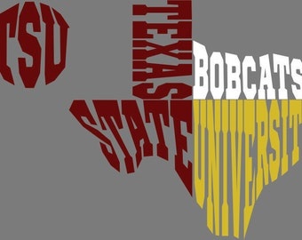 Texas State Texas SVG DXF