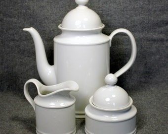 Seltmann Weiden Bavaria W. Germany vintage Porcelain Tea or Coffee Set