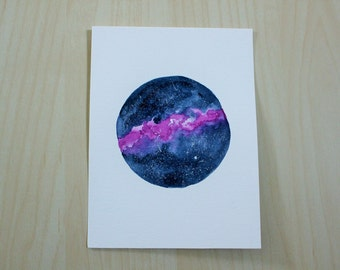 Tiny Galaxy Watercolor