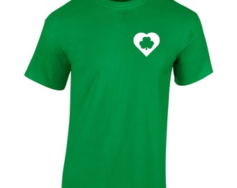 High Clover T-Shirt St Patrick's Day Paddy's Day Novelty 2017