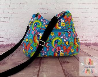 Fabric hobo bag   Etsy