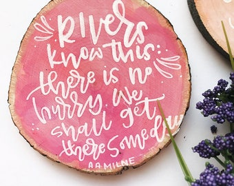 rivers   winnie the pooh minis   quotable magnets   rustic decor   baby shower