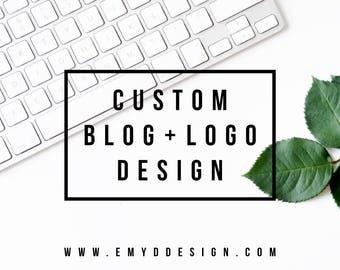 Custom Blog Design || Three Page Blog Design, Blog Design, Website Design  || EMYDDESIGN
