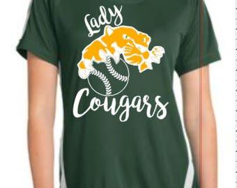 GCSJH  Lady Cougars Softball