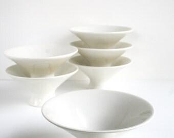 Ben Seibel Iroquois Impromptu Footed Bowl Set of 6