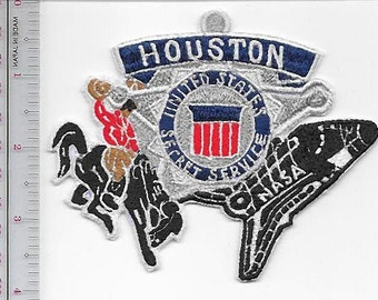 US Secret Service USSS Texas Houston Field Office, Agent Service Patch