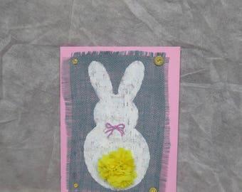 Bunny butt decor