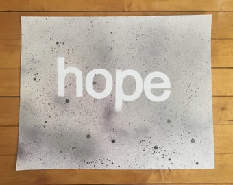 Hope Inspirational Poster