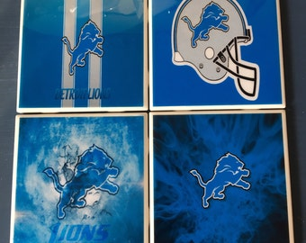 Detroit Lions coaster set